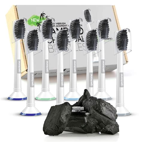 amazoncom demirdental charcoal replacement toothbrush