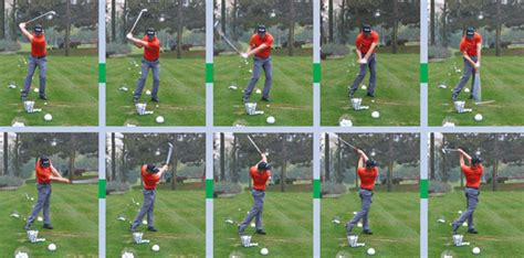 swing sequence iron tips from the tour