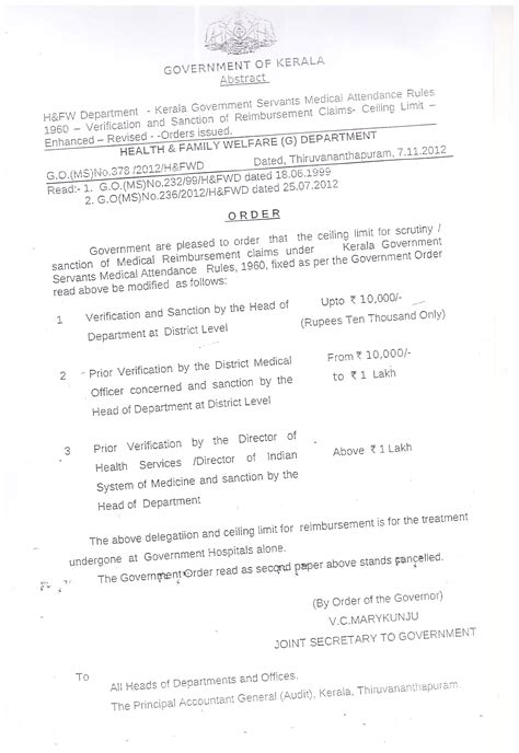 Gpf Withdrawal Letter Government Polytechnic College Adoor