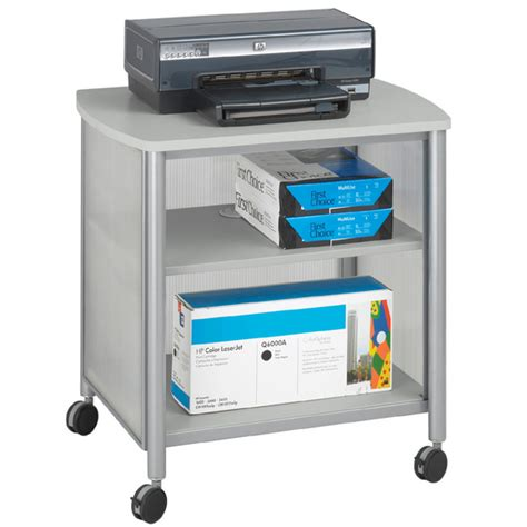 office furniture impromptu mobile machine stand by safco