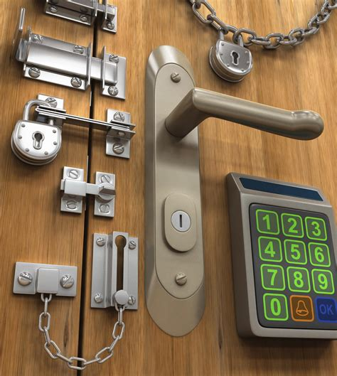 door locks  protect  home   holidays
