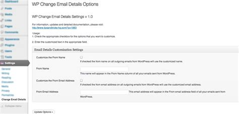 email wordpress wordpress email settings and how to change the send from
