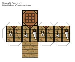 minecraft papercraft crafting table anthony s things