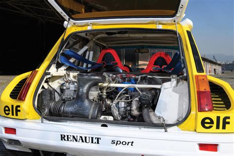 renault 5 turbo group b up for auction 1982 renault 5 turbo group b