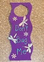 Door Knob Hanger by Door Knob Hanger Craft Hanger Crafts Door Knob Hanger