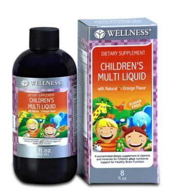 Vitamin Anak Jual Vitamin Anak Wellness Children S Multi Liquid Murah