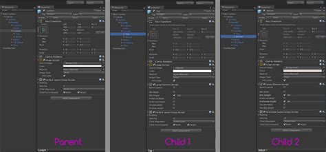 unity layout element flexible height issues with vertical layout group unity forum