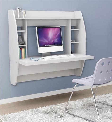 Wall To Wall Desk Diy 22 Wall Mounted Desks Designs Diy Home