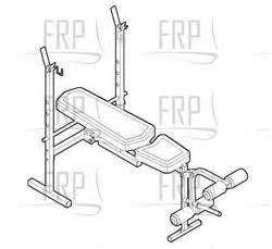 weider 170 weight bench weider 170 tc weevbe79090 fitness and exercise equipment repair parts