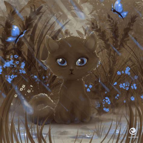 a sad cat by ewageruzel on deviantart