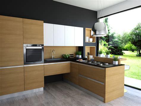 cucina moderna legno cucina easy wood garnero design