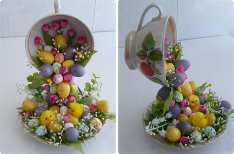 decorative easter eggs home decor diy home decor crafts easter eggs chicks artificial flowers