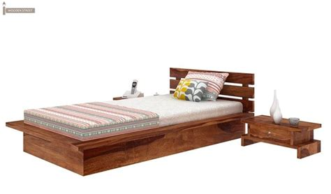 low floor beds dwayne single bed teak finish