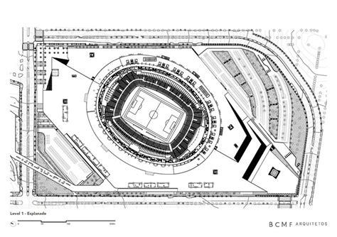 stadium floor plans mineir 227 o stadium bcmf arquitetos archdaily