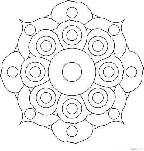 easy mandala coloring pages for adults free mandalas coloring gt flower mandalas gt flower mandala