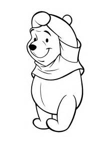 what color is winnie the pooh pooh pig coloring pages