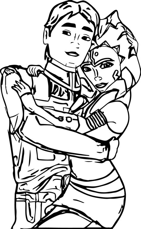 coloring pages ashoka wars ahsoka coloring pages for adults best