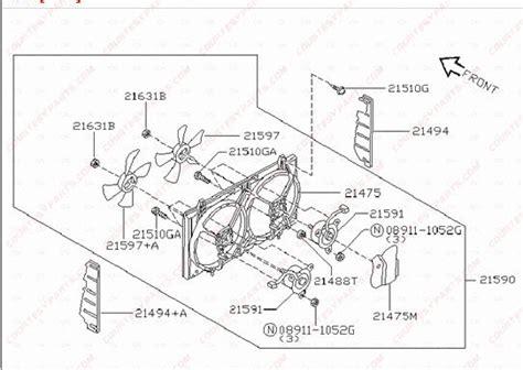 2000 nissan maxima radiator fan not working 2000 nissan altima system diagram html