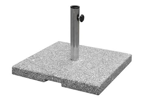 Emu Shade 85lb Granite Base Umbrella Base Up To 1 5 Patio Umbrellas With Base