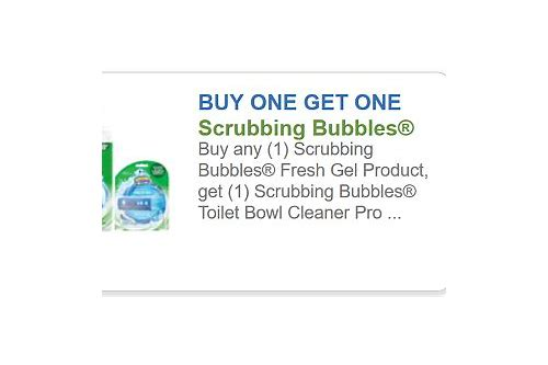 scrubbing bubbles printable coupons 2018