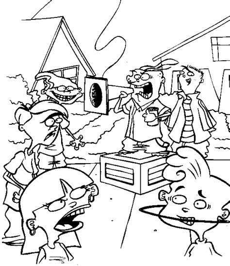 ed edd n eddy color page coloring pages for kids cartoon ed edd n eddy coloring pages coloringpagesabc com