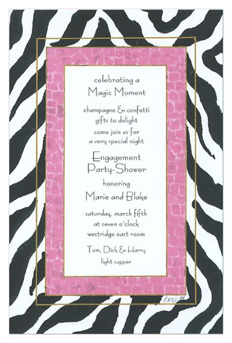 printable zebra and pink invitations pink and black zebra print invitations