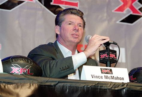 Vince Mcmahon Criminal Record Will Your City Be Home To One Of The Reincarnated Xfl S