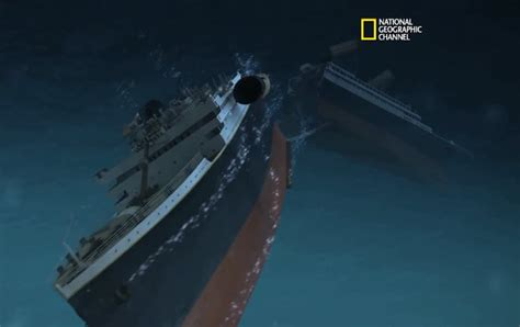 when did the titanic sink so how did the titanic sink data is reconstructed
