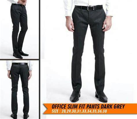 Celana Pria Bioblitz Bigsize Jumbo 34 38 celana kerja kantor pria big size besar 333435363738 murmer toko grosir lengkap 2