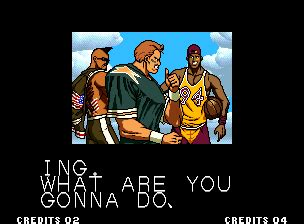 ending for king of fighters '94 team usa(neo geo)