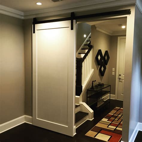 Modern Panel Barn Door Contemporary Barn Door