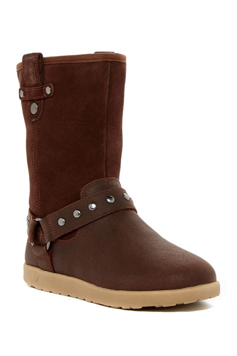 short moto boots ugg kids moto short