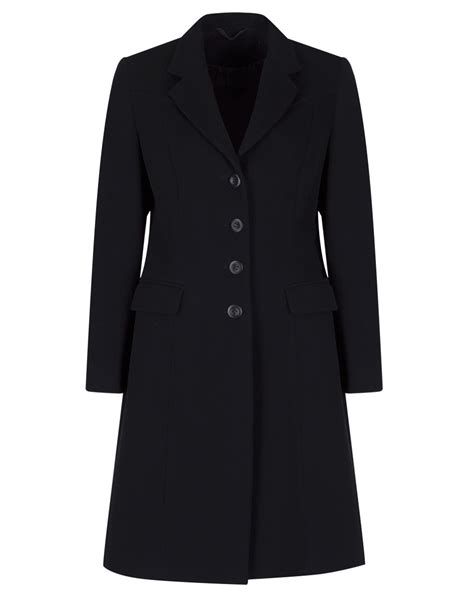 Black Coat s tailored black wool coat ma1012a myles anthony