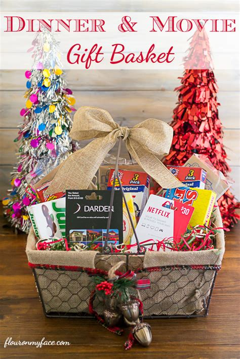 dinner gifts christmas gift basket ideas
