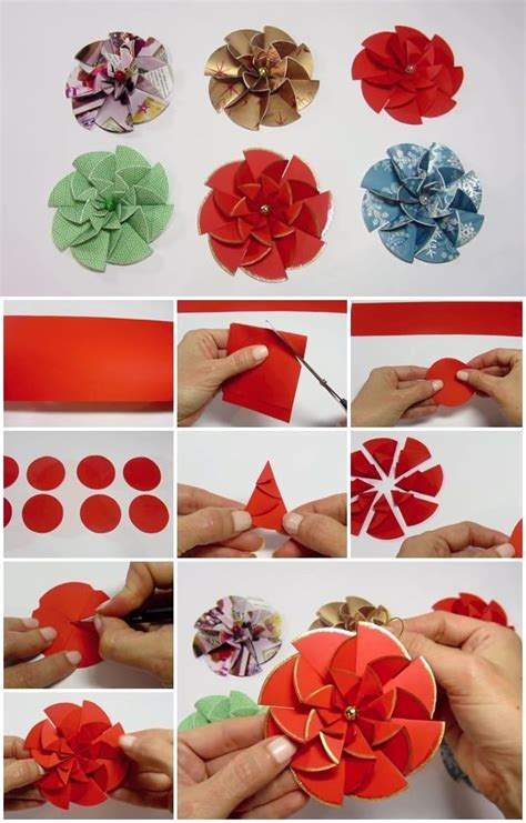 Show Me How To Make Paper Flowers - how to make easy modular paper flower usefuldiy