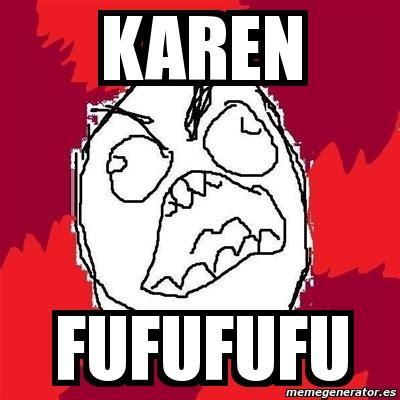 Fufufufu Meme - meme rage fu karen fufufufu 15303
