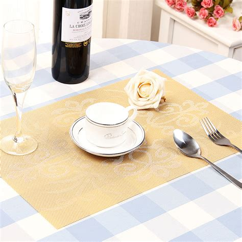 Mats For Tables by Placemat Place Mat Table Mat Washable 45x30cm T1 Ebay