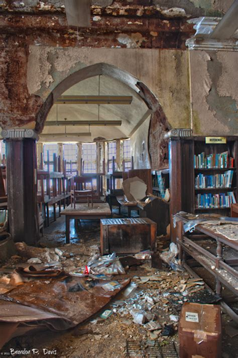 the abanonded books heartbreaking photos show an abandoned library and its