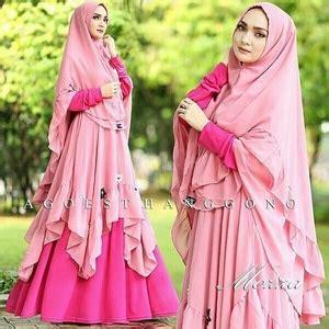 Gamis Baju Wanita Muslimah Busana Muslim Syari Kr Kaftan Brukat Raisa 1 model baju gamis syari pakaian muslimah wanita modern terbaru bahan jersey