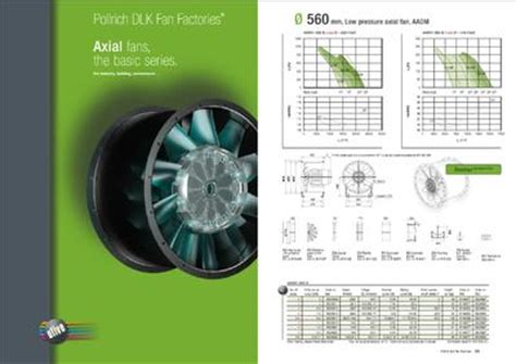 axial fan catalogue axial fan catalogue from pollrich dlk fan factories