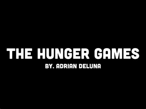 hunger games themes ppt haiku deck gallery education presentations and templates