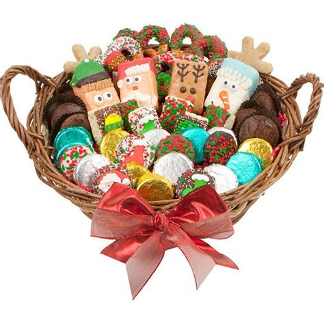 holiday gourmet cookie basket gourmet cookie bouquets