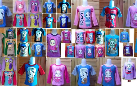 Baju Kaos Muslim Anak grosir kaos muslim anak murah di bandung rp 15 000