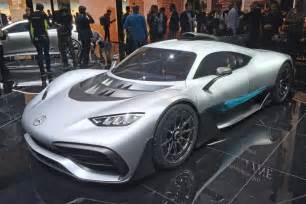 Mercedes I Mercedes Amg Project One Hypercar Unveiled At Frankfurt Evo