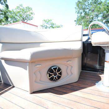 pontoon boat speakers
