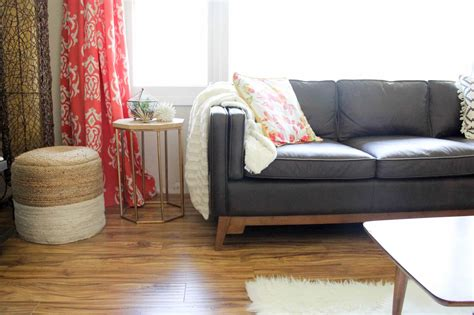 article ceni sofa review the best mid century bright green door
