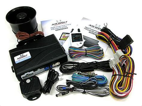 airwolf two way car alarm security(id:3502700) product