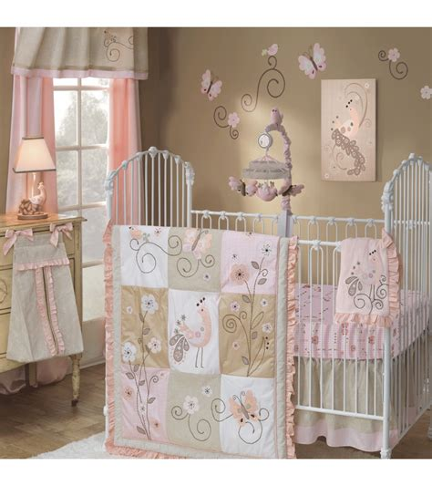 lambs and ivy crib bedding lambs ivy fawn 5 piece crib bedding set
