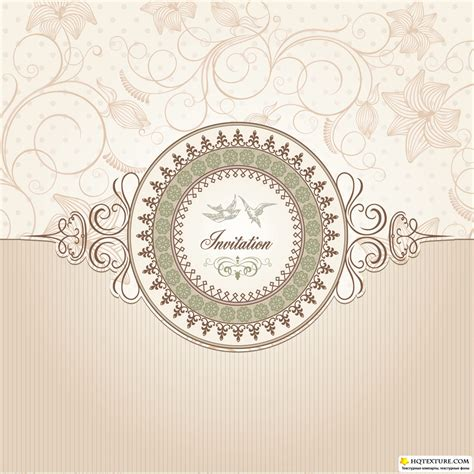 Wedding Vector by Vintage Wedding Cards Vector 187 векторные клипарты