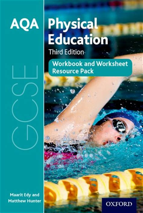 aqa gcse physical education 0198370253 aqa gcse physical education workbook and worksheet resource pack oxford university press
